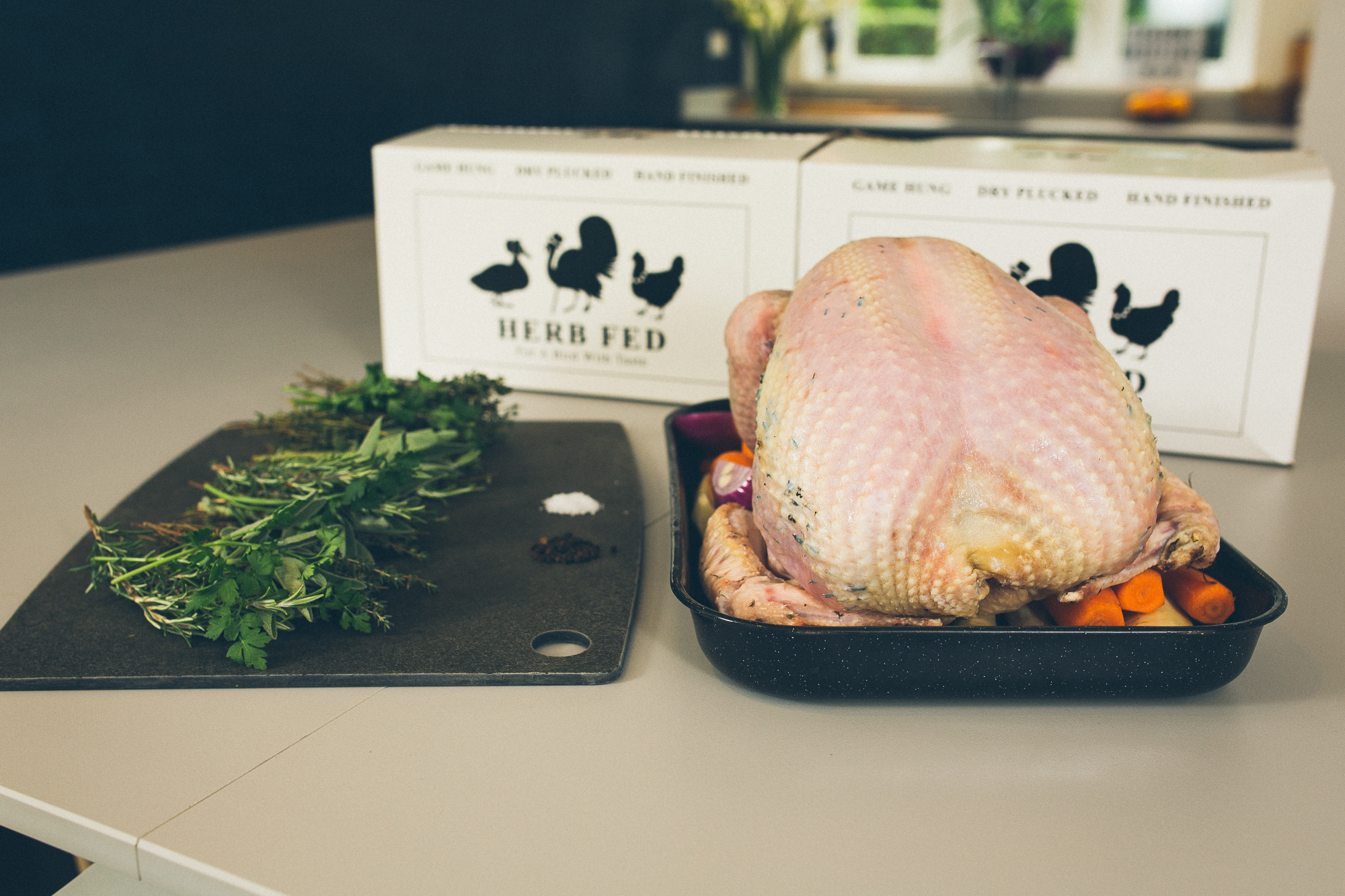 Herb fed free range bronze christmas turkey herb fed poultry for How to cook a 7kg turkey