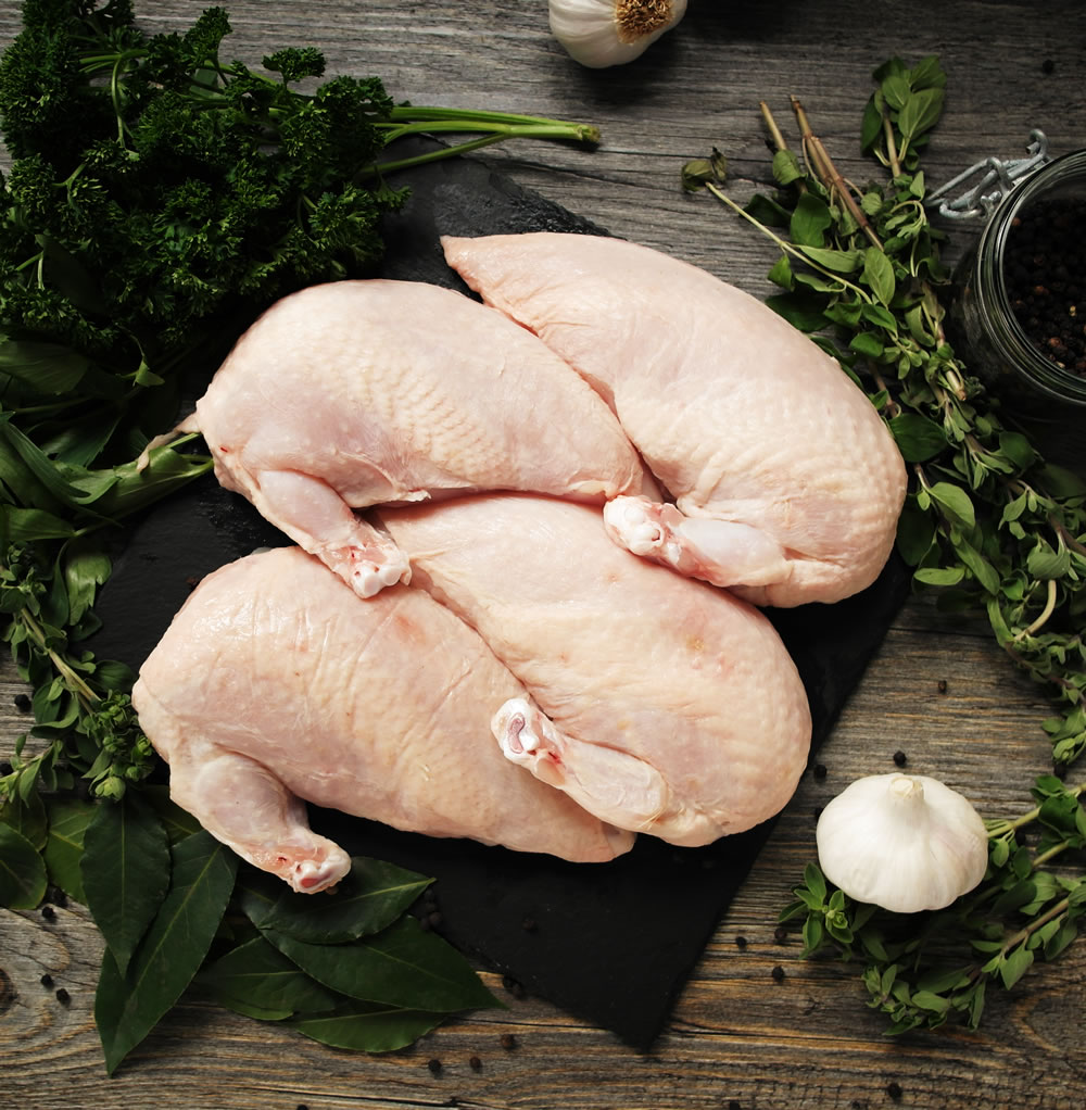 buy free range chicken supremes online