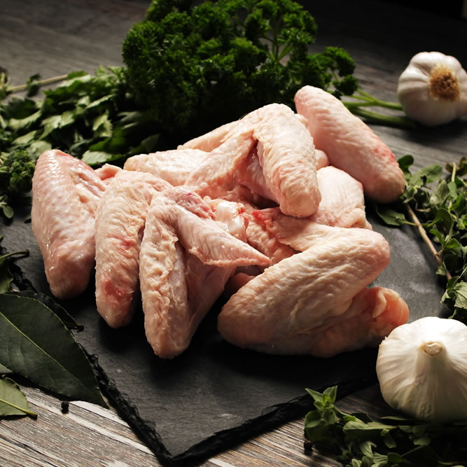 Buy free range chicken wings online
