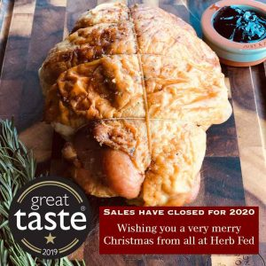 Herb Fed sales close turkey breast joint